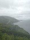 Took a misty drive along the Cabot Trail