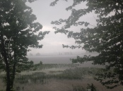 Thunderstorm on the Ottawa River