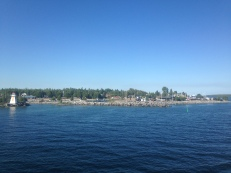 Manitoulin from the ferry