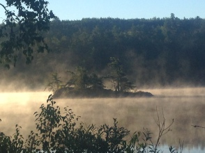 Magical morning on Dogtooth Lake.
