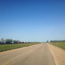 Flat land at last!