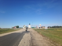 Typical Saskatchewan town
